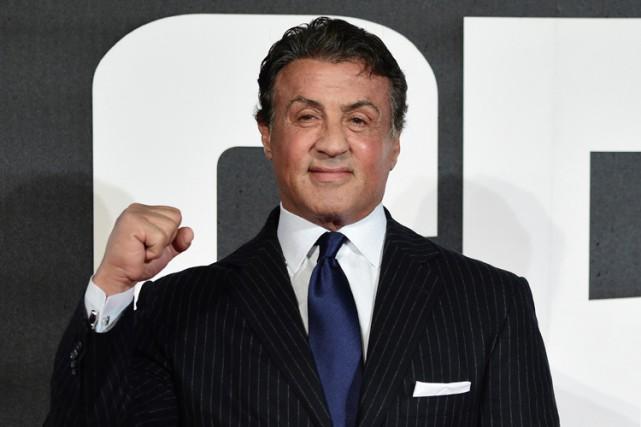 Sylvester Stallone, nommé pour le meilleur acteur dans... (PHOTO AFP)