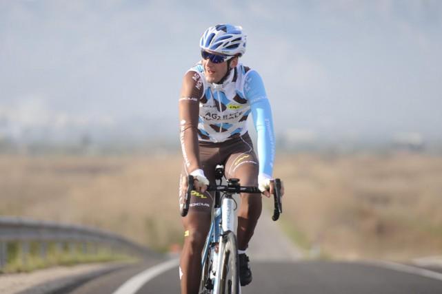 Hugo Houle a amorcé sa première course à... (Photo: Équipe AG2R La Mondiale/Yves Perret)