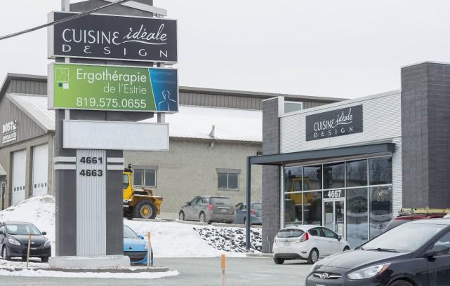 L'entreprise Cuisine Idéale comptera deux usines à Sherbrooke,... (Spectre Média, Frédéric Côté)