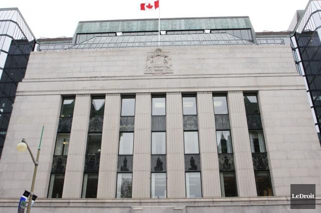 Mercredi matin, la Banque du Canada notait, elle,... (Etienne Ranger, Archives LeDroit)
