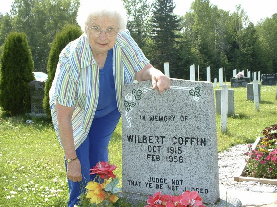 Marie Coffin dans le secteur de York, à... (Collaboration spéciale Geneviève Gélinas)