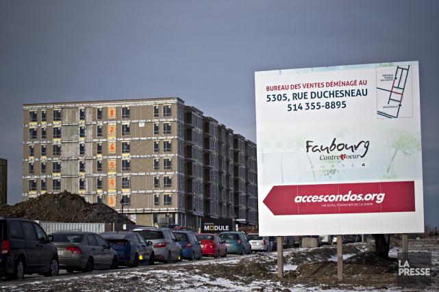 L'affaire du projet Faubourg Contrecoeur a débuté en... (La Presse, Patrick Sanfaçon)