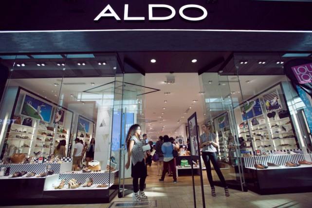 Le détaillant québécois Aldo s'est accidentellement retrouvé mêlé à l'actuelle... (Photo tirée de la page facebook de l'entreprise)