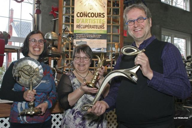 Le Concours d'artistes récupérateurs invite les artistes de... (La Tribune, Maryse Carbonneau)