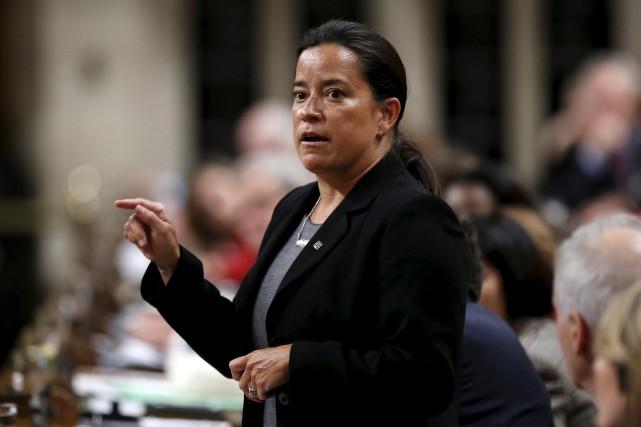 Jody Wilson-Raybould,ministre fédérale de la Justice.... (PHOTOCHRIS WATTIE, ARCHIVES REUTERS)