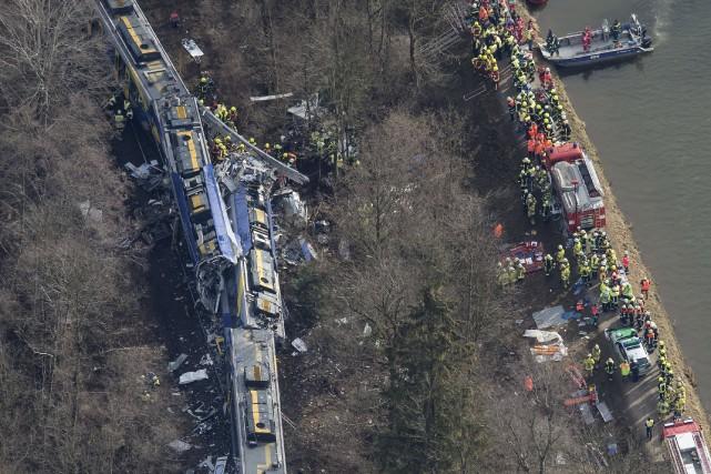 L'accident est survenu dans un bois à hauteur... (Photo Peter Kneffel, Archives AFP)