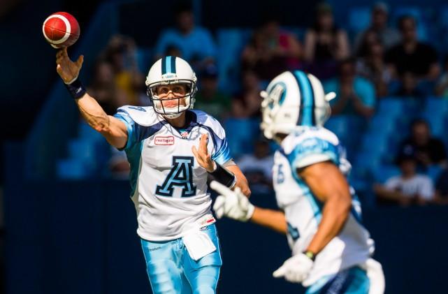 Les Alouettes pourraient avoir de l'intérêt pour le... (Photo Mark Blinch, archives La Presse canadienne)