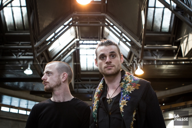 Le duoHeymoonshaker, composé deDave Crowe et Andy Balcon... (PHOTO MATHIEU WADDELL, archives LA PRESSE)