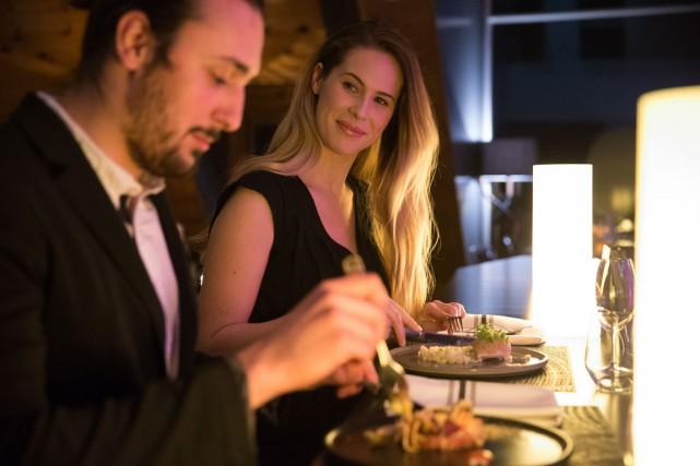 À essayer au Balnéa: le menu trois services... (PHOTO FOURNIE PAR LE BALNÉA/CRÉDIT JIMMY HAMELIN)