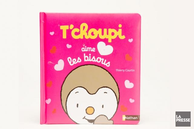 T'choupi aime les bisous, Thierry Courtin, Éditions Nathan,... (PHOTO MARCO CAMPANOZZI, LA PRESSE)