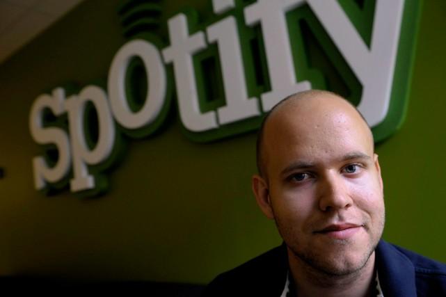 Le fondateur de Spotify, Daniel Ek.... (PHOTOJANERIK HENRIKSSON, ARCHIVES ASSOCIATED PRESS)