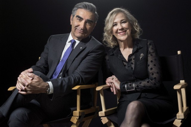 Eugene Levy et Catherine O'Hara... (PHOTO ARCHIVES LA PRESSE CANADIENNE)