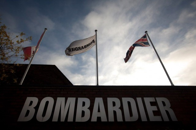 Bombardier Transport a conclu un accord de coopération... (Photo Jason Alden, Archives Bloomberg)
