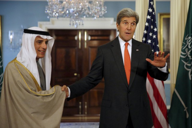 John Kerry s'est entretenu mardi à Washington avec... (PHOTO REUTERS)