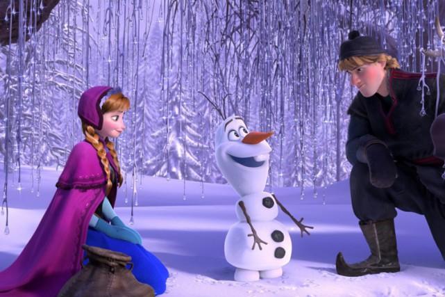 Frozenraconte l'histoire de deux soeurs, Elsa et Anna,... (PHOTO DISNEY)