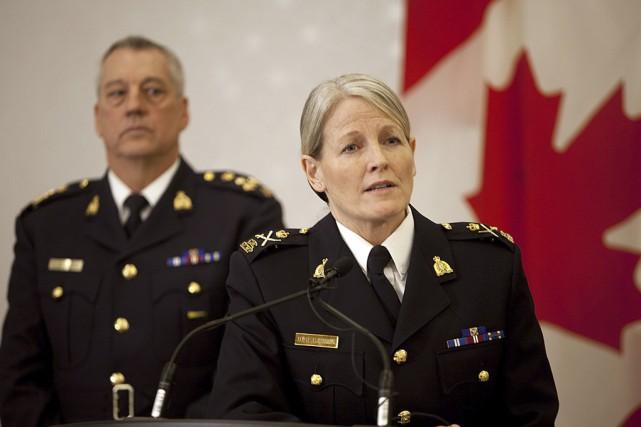 La sous-commissaire de la GRC Janice Armstrong a... (La Presse Canadienne)