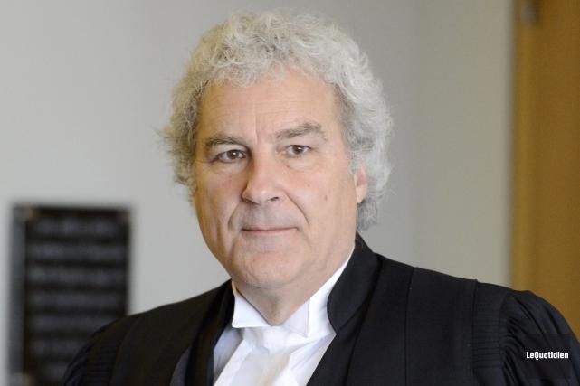 Me Pierre Dupras... (Archives Le Quotidien, Jeannot Lévesque)