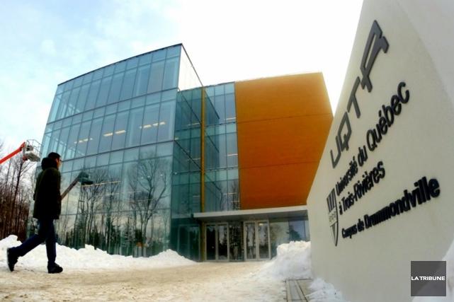 Le nouveau campus de Drummondville de l'UQTR a... (Archives, La Tribune)