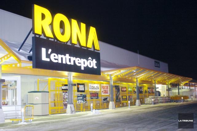 Plusieurs marchands affiliés de Rona sont sollicités par... (Archives, La Tribune)