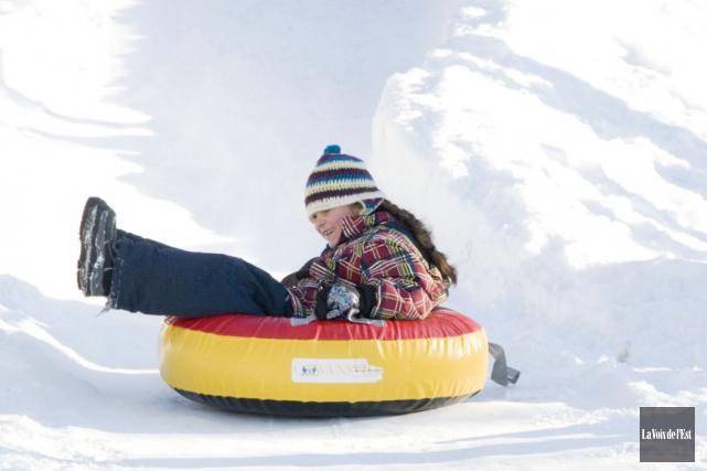 Lors de l'activité Plaisirs d'hiver à Waterloo,les citoyens... (Archives La Voix de l'Est)