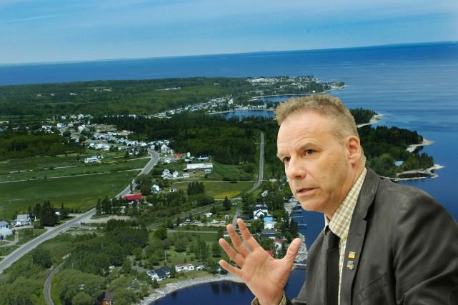Le préfet de la MRC Lac-Saint-Jean-Est André Paradis... (Montage Le Quotidien)