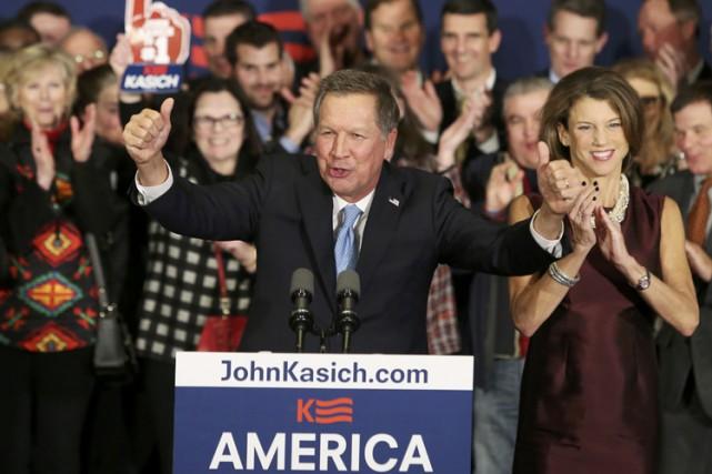 John Kasich, qui aime à se présenter comme... (PHOTO REUTERS)