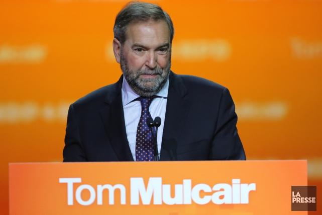 Le chef néo-démocrate Thomas Mulcair n'a jamais voulu... (Archives La Presse)