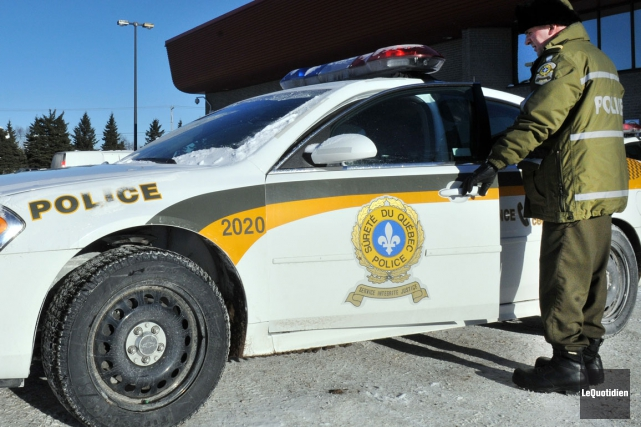 La Sûreté du Québec a frappé des revendeurs de drogue de la région de Coaticook. (Archives Le Quotidien)