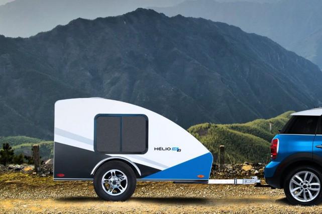 La mini-roulotte Hélio He... (photo fournie par le constructeur)