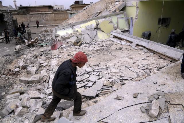 «Le régime et ses alliés doivent respecter leurs... (PHOTO ARCHIVES REUTERS)