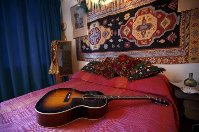 «C'est comme un voyage dans le temps», dit l'ex-amoureuse de Jimi Hendrix,... (PHOTO REUTERS)