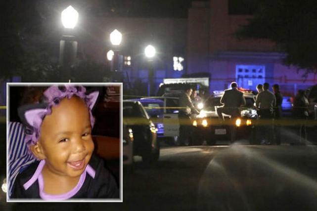 La police pense que la fillette n'était pas... (PHOTOMONTAGE L.A. TIMES)