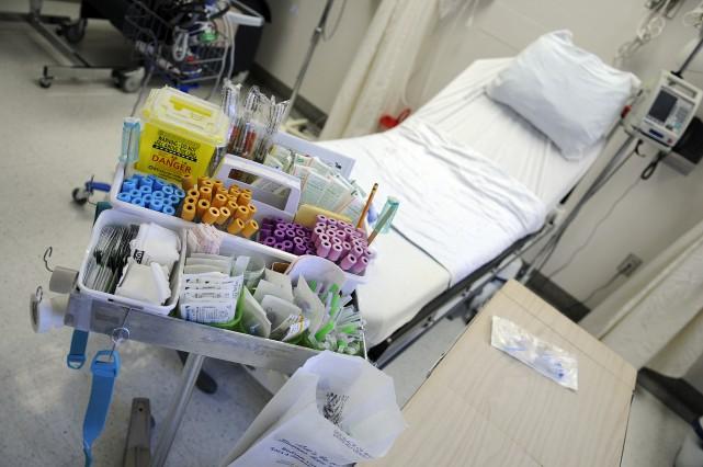 «Avec ce nouveau système, un hôpital recevra plus... (PHOTO MARIANE L. ST-GELAIS, ARCHIVES LE QUOTIDIEN)