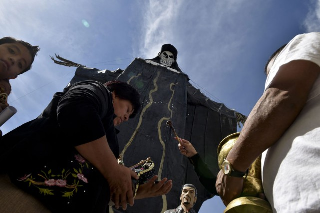 Dans ce pays où le pape François entame... (PHOTO AFP)