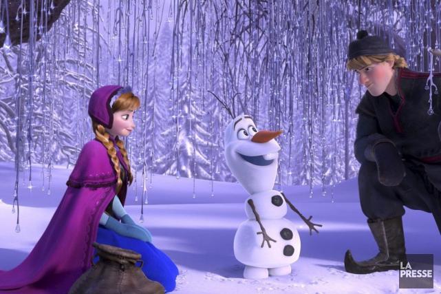 La reine des neiges... (Fournie par Disney)