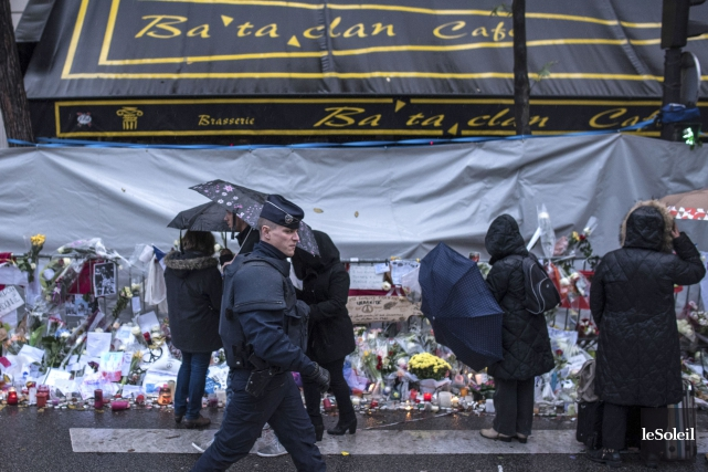 Le Bataclan après les attentats... (Photothèque Le Soleil)