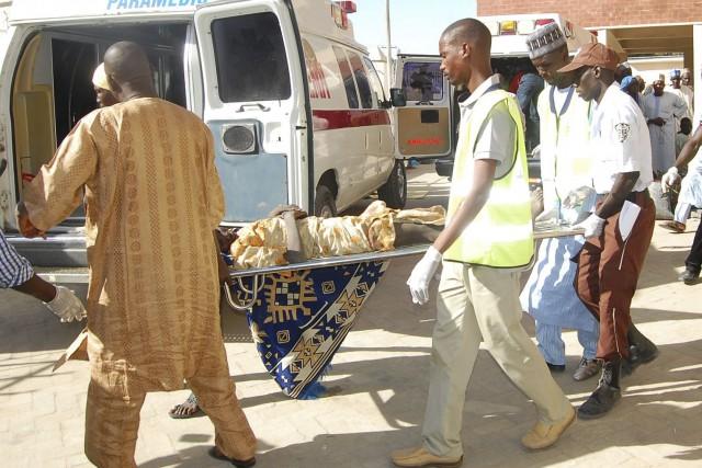 Ce double attentat, qui aurait été mené en... (AP, Jossy Ola)