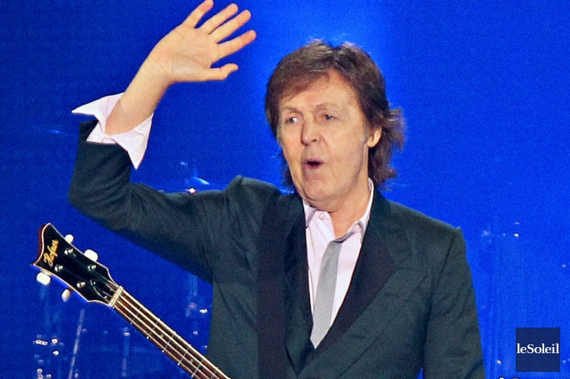 Paul McCartney... (Archives Le Soleil)