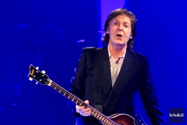 Paul McCartney dit trouver le projet amusant mais... (Photothèque Le Soleil)