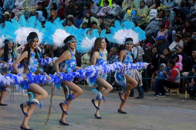 Les quatre jours de carnaval en Bolivie se sont soldés par 52 morts, entre les... (Photo Reuters)