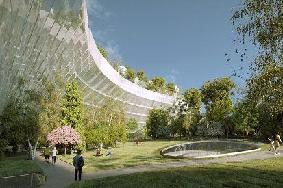 Le projet Mille arbres devrait voir le jour... (AFP, Sou Fujimoto et Manal Rachdi-Oxo)