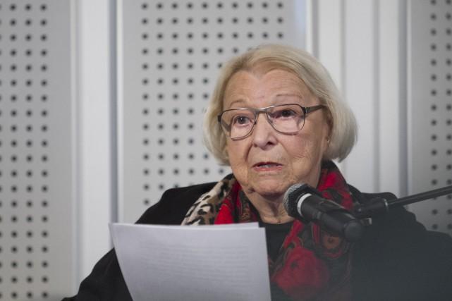 À 84 ans, Lise Payette n'a rien perdu: ni de sa verve, ni de son idéal à... (Spectre Média René Marquis)