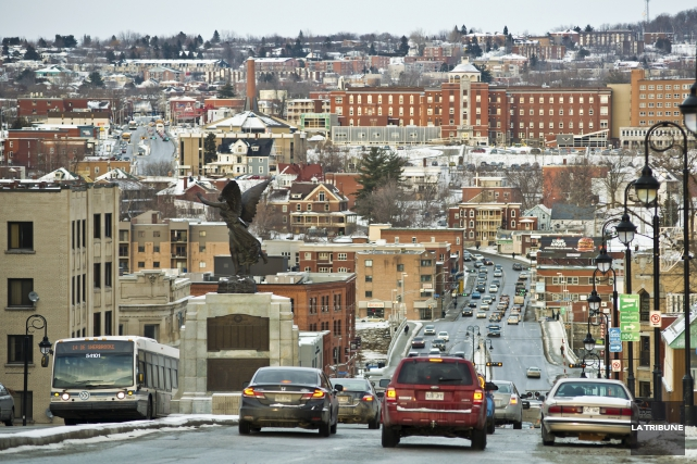 La Ville de Sherbrooke comptait 144 604 habitants... (Archives, La Tribune)