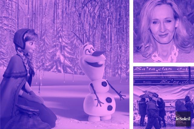 La reine des neiges arrive à Broadway en 2018 (Infographie Le Soleil)