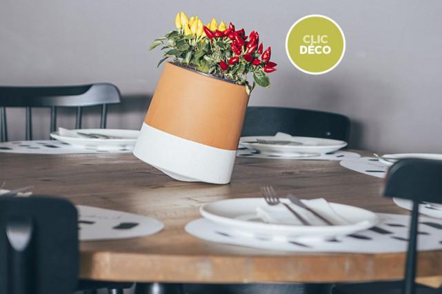 La firme espagnole Studio BAG Disseny a inventé un pot avec une base rotative... (Jordi Roca)