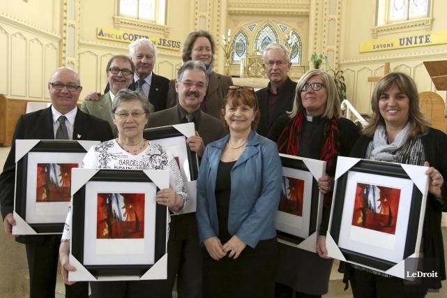 La Table du patrimoine de l'Outaouais a célébré... (Patrick Woodbury, LeDroit)