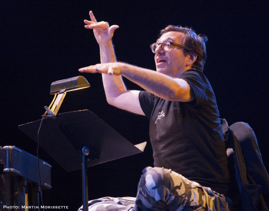 John Zorn sera de retour au Festival international... (Photo fournie, Martin Morissette)