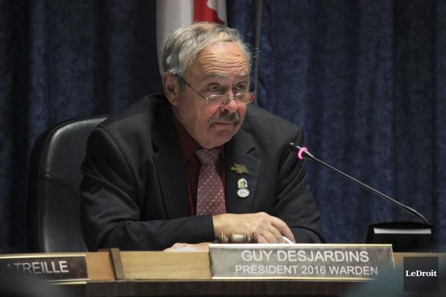 Le président des CUPR, Guy Desjardins, estime qu'il... (Martin Brunette, LeDroit)