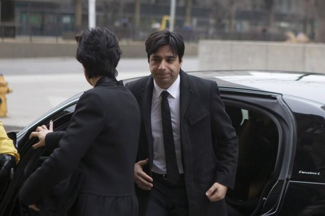 Jian Ghomeshi, qui est accusé d'agressions sexuelles, fait... (La Presse Canadienne)