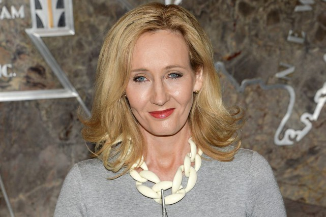 L'auteure J.K. Rowling... (Archives AP)